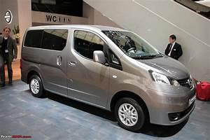 Nissan Nv200 Evalia : spotted nissan mpv nissan evalia nv200 team bhp ~ Mglfilm.com Idées de Décoration