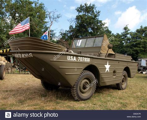 hibious jeep ford gpa amphibious jeep stock photo royalty free image