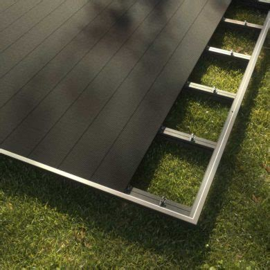 wpc shop wpc terrassen komplett set anthrazit 3x3m kobrax shop
