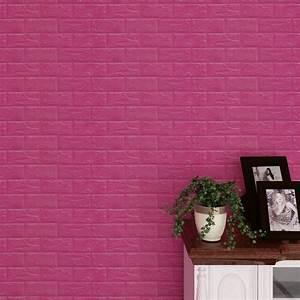 New pe foam d wallpaper diy wall stickers decor