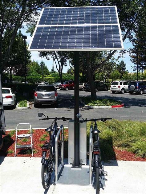 swiftmile electric bike solar charging stations