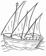 Barcos Folhas Pesca Kidsplaycolor Vela sketch template