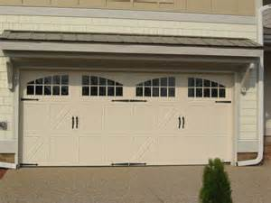 Garage Door Overhang Designs