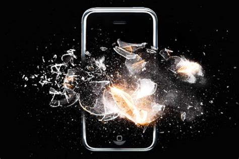 iphone blows up iphone