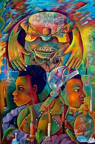 Haitian Art Paintings