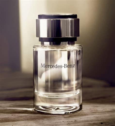 mercedes benz launches perfume  men