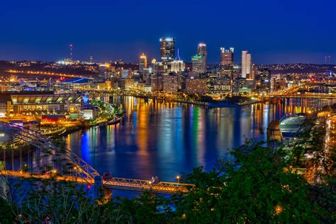 Images Pittsburgh Pittsburgh Skyline And The Steelers Matthew Paulson