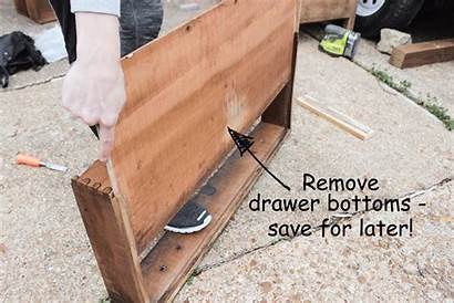 Drawer Slides Dresser Install Drawers Step Build