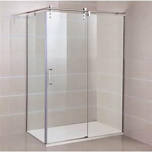 paroi de douche d39angle roll acces sur cote robinet and With porte de douche coulissante avec meuble d angle suspendu salle de bain