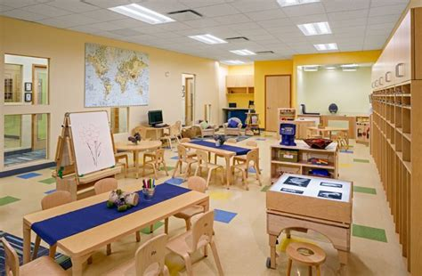 stonehill amp projects bright horizons at new 278 | 6a78f06d75b1a2f4321343eecf25ed73 child care centers classroom design