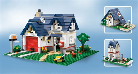 Neu Lego Creator 5891 Haus Mit Garage Apple Tree House