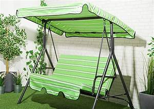 Stripes Replacement Canopy For Swing Seat Garden Hammock 2