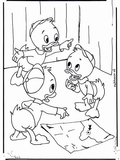 Quo Qua Qui Coloring Pages Louie Colorare
