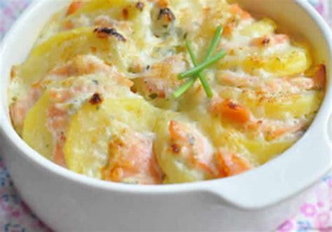 cuisiner saumon surgelé saumon et pommes de terre au creme avec cookeo