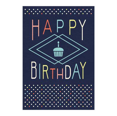 happy birthday cupcake card  hallmark business connections