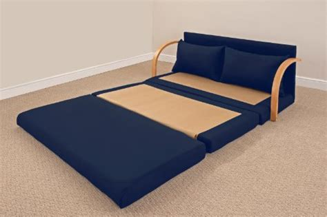foam flip out chair bed fold out foam sofa bed navy 171 buy sofa s
