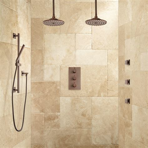 Shower Jet System by Labelle Thermostatic Dual Shower System Shower And