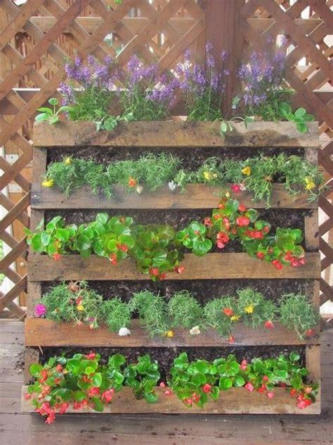 pallet garden ideas diy pallet vertical garden projects pallet wood projects