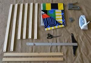 Diy fabric wall art project nursery