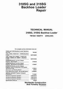 John Deere 310sg 315sg Backhoe Loader Pdf Manual