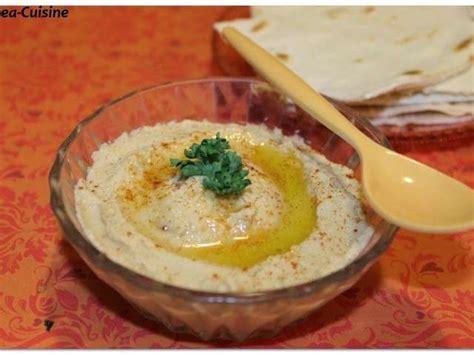 recette cuisine libanaise recettes de houmos