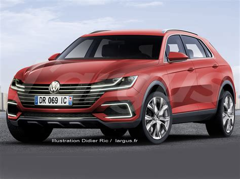2019 Vw Tiguan Coupe R Release Date  Future Cars Pictures