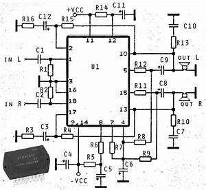 Stk ic subwoofer amplifier circuit circuit diagram images for Stk audio ic