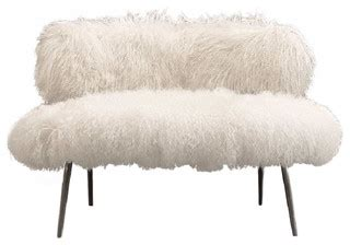 nepal faux fur chair modern armchairs  accent