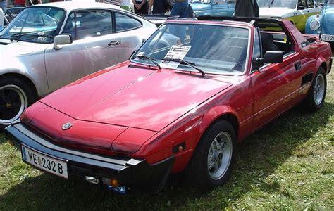 Fiat X19 by Fiat X19 1972 1989