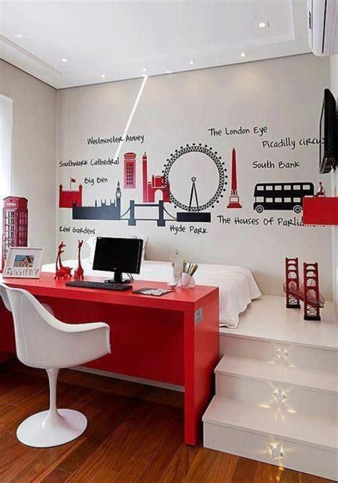 petit bureau chambre 1001 idées comment aménager une chambre mini espaces