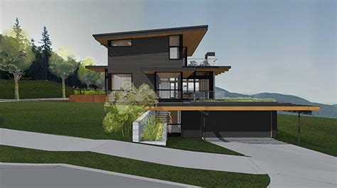 House Plans For Steep Slopes  Home Design And Style