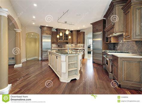 kitchen island that seats 4 kitchen with l shaped island stock photo image 12408256