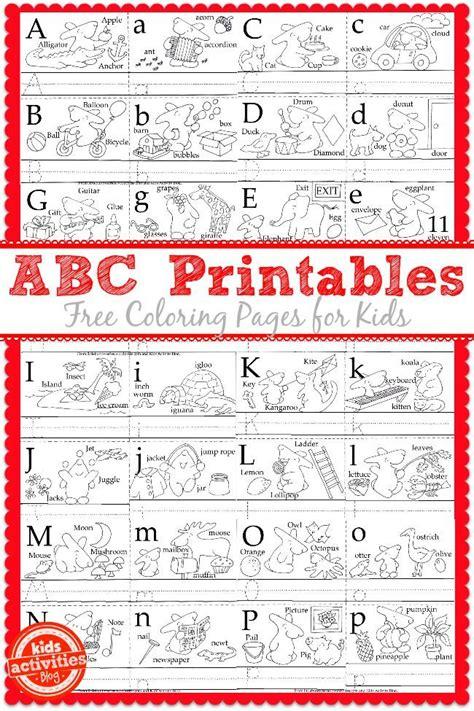 learn  write  abcs   kids printables ils