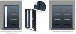 aluminium portabloc fabricant de portes d39entree d With dimensions porte d entree