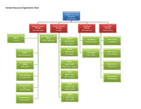 Human Resource Organizational Structure Chart