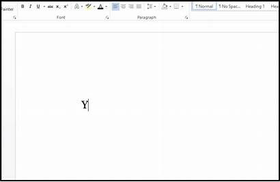 Blank Typing Terror Facing Screen