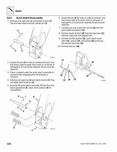 Quick Attach Disassembly  O Section 3 6 3   U201cquick Attach