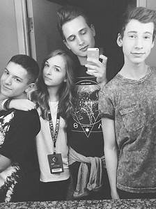 4/5 of THE Fab Five #lohanthony #jennxpenn #andrewlowe # ...