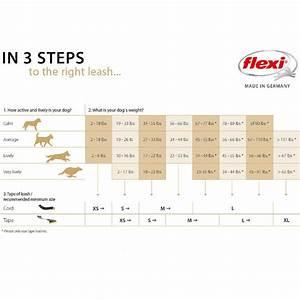 Dog Food Quantity Chart Buy Flexi New Classic 5m Tape Retractable Dog Leash Online