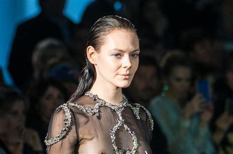 Rome Fashion Week Sheer Fashion Takes Over Runway As