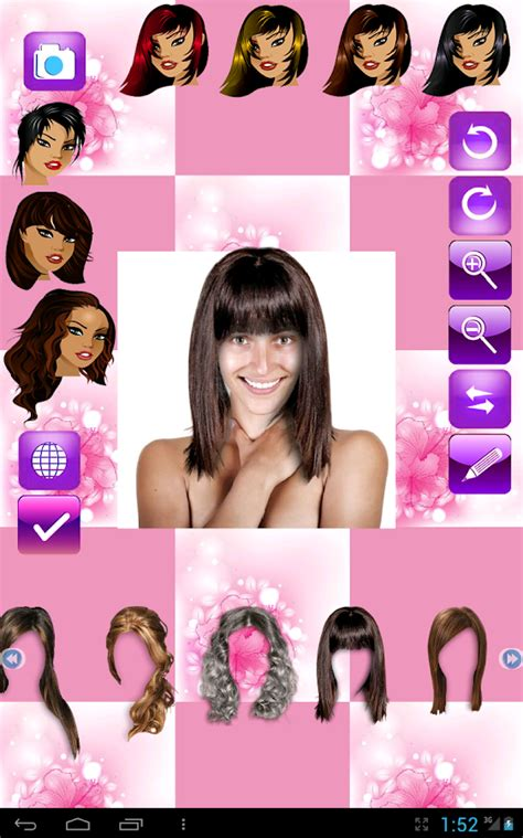 is there a haircut app change hairstyle android apps on play