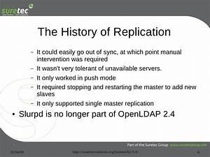 Openldap Replication Strategies