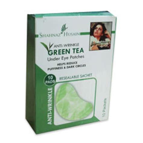 Buy Shahnaz Anti-Wrinkle Green Tea Under Eye Patches