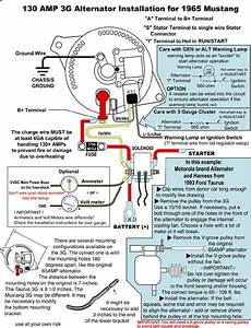 Instrument Cluster And 3g Alternator Wiring