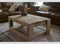 Rustic table made with palletsDIY Pallet Furniture DIY