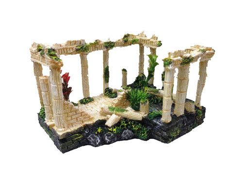 ancient ruins fish tank decorations ancient ruins ornament for aquarium fish tank decoration terrarium decor ebay