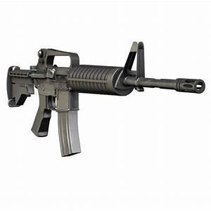 Colt M4A1 Carbine Assault rifle   3D Weapons   Pinterest