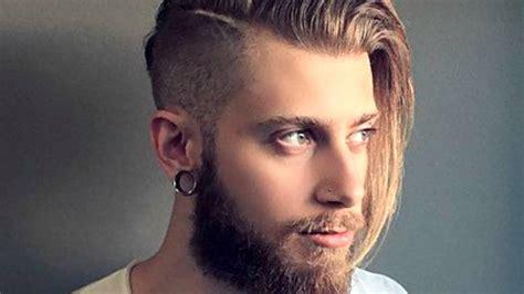 Men's Long Hair With An Undercut