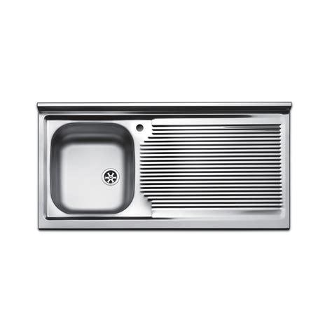 lavello cucina da appoggio lavello da appoggio apell serie pisa 100 cm con lavandino