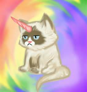 unicorn cat grumpy cat unicorn grumpicorn let s mix it up